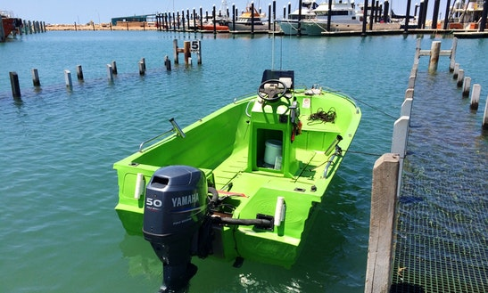 Hire 15' Polycraft Center Console From Exmouth, Australia