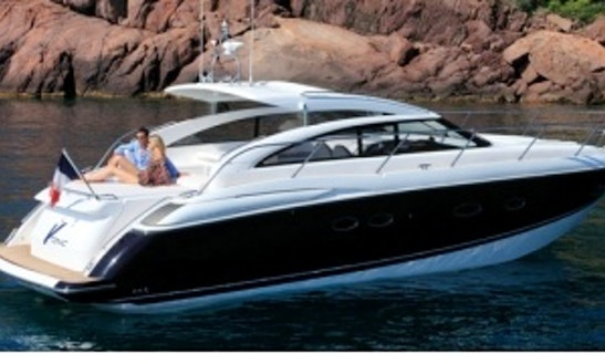 44' Princess V42 Motor Yacht Charter In Portals Nous, Spain