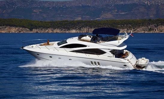 Sunseeker Manhattan 50 Yacht Charter In Portals Nous