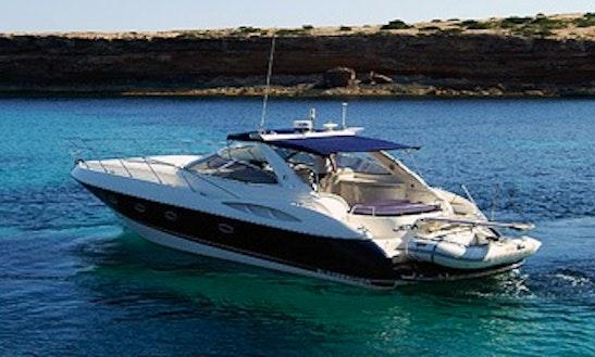 Sunseeker Camargue 44 Motor Yacht Charter In Portals Nous, Spain