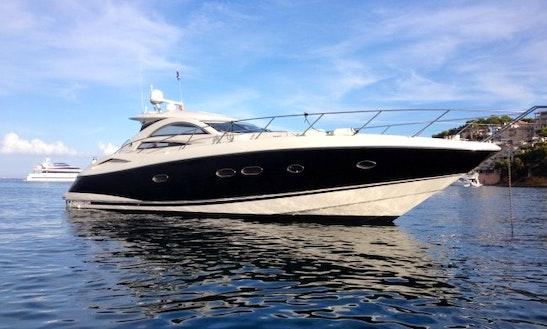 Sunseeker Portofino 53 Motor Yacht Charter In Portals Nous, Spain