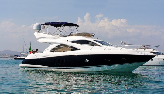 Sunseeker Manhattan 52 Yacht Charter In Club De Mar