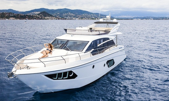Absolute 52 Motor Yacht Charter In Portals Nous
