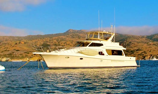 "Luxury Yacht Charters on ""The Duchess"" in Marina del Rey, California"