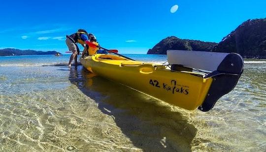 Tandem Kayak Rentals In Marahau