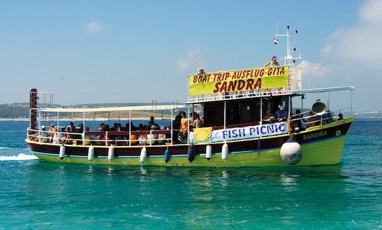Passenger Boat Trips In Medulin, Croatia