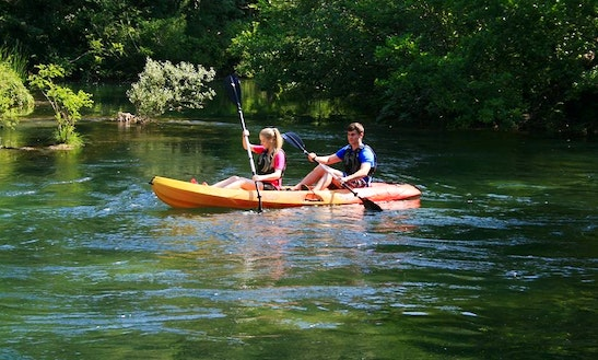 Kayak Tours In Dugi Rat, Croatia