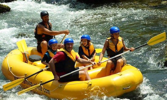 Rafting Trips In Duce, Croatia