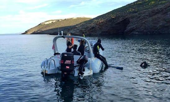 Dive Boat In Anatoliki Attiki