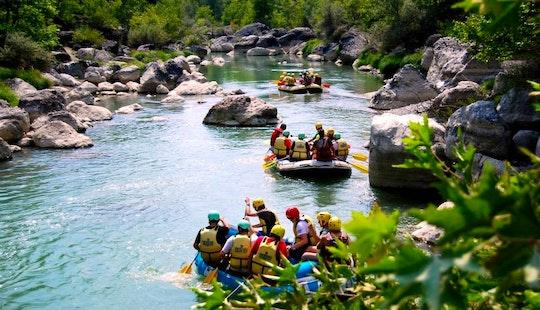 White Water Rafting On Aliakmonas River