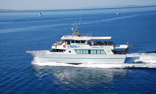 Island Boat Excursion In Croatia