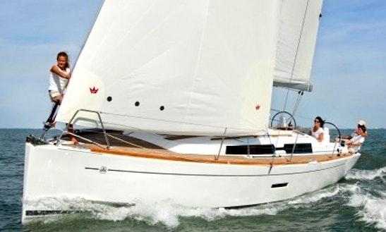 Charter Dufour 375 Sailing Yacht In La Rochelle