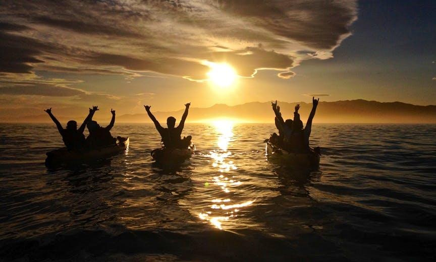 Sunset Kayak Tour In Kaikoura