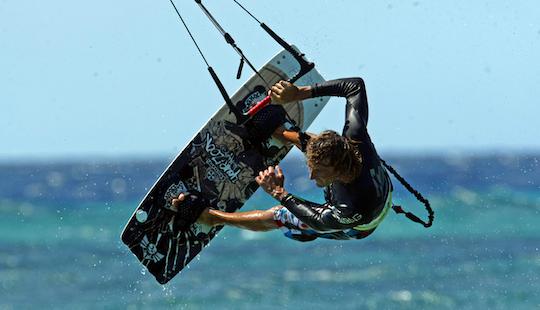 Kite Surfing In Ban Tai Koh Phangan