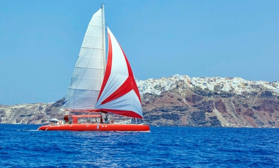 'ammoudi' Ocean Voyager Catamaran Day Tours In Santorini