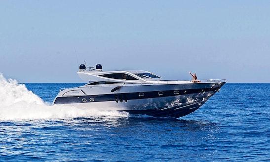 'alea' Alfa Marine Yacht Charter In Santorini