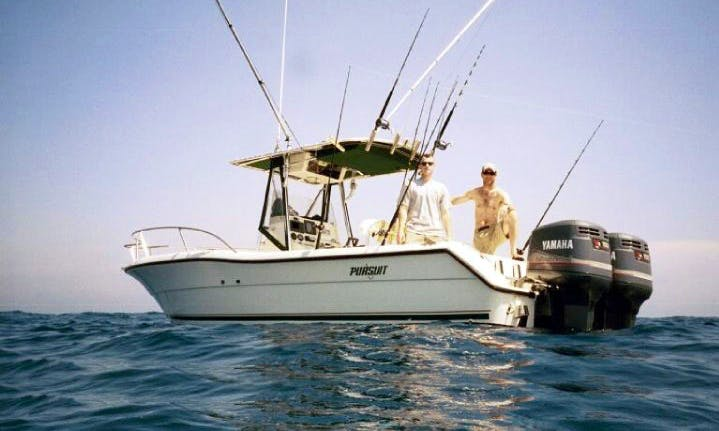 Fishing Charter On 30' Osmond Beal Center Console In Greenwich, Connecticut