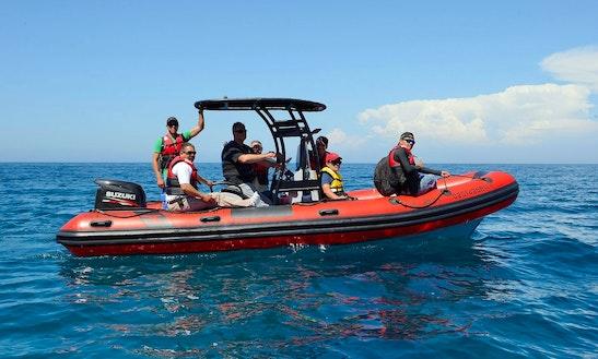 'la Roja' Boat Island Tour In Rosarito