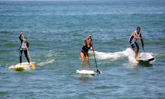 Stand Up Paddleboard Rental In Ensenada Estero Beach Hotel