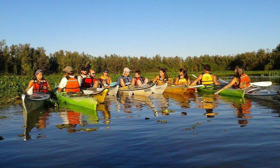 Kayak Lessons In Rosario