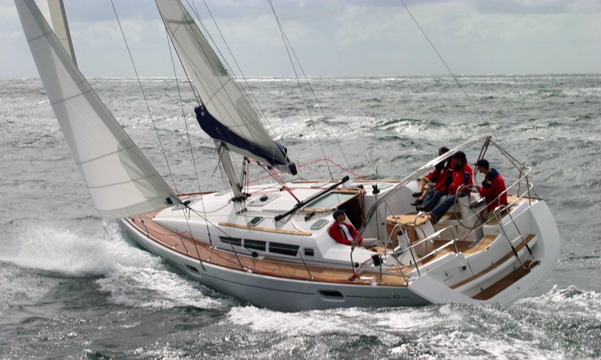 Jeanneau Sun Odyssey 509  Charter for 20 People in Gzira, Malta