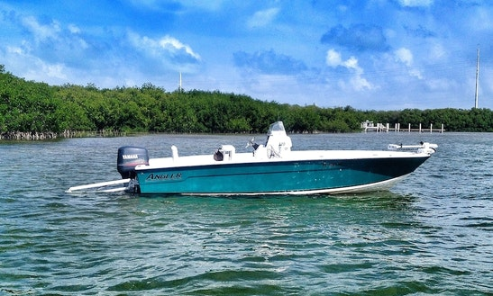 Fishing Charter On 22' Angler Bay Boat In Islamorada, Florida