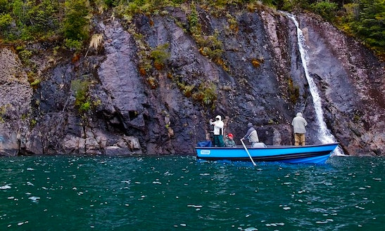 Amazing Fishing Charter For 4 People In Chaitén, Chile