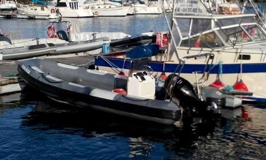 Dive Boat In Ponta Delgada