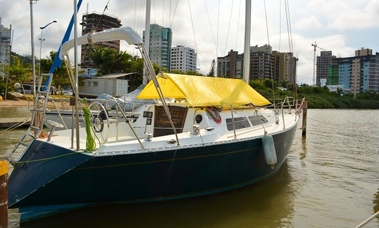 Yacht Velamar 33 Rental In Itajaí, Sc