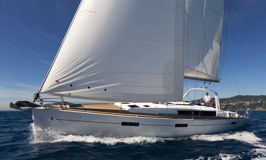 Bare Boat Cruising Monohull In Malta