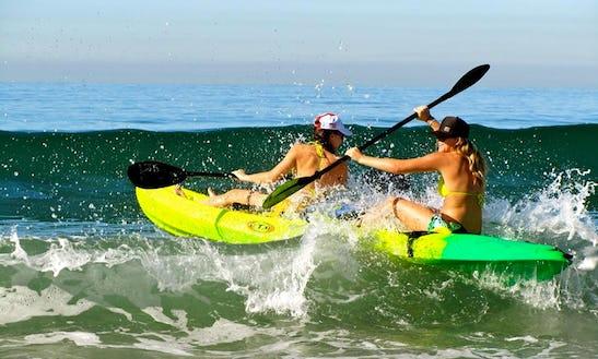 Ocean Scrambler Double Kayak Rental & Tours In San Diego, California