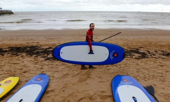 Stand Up Paddleboarding Lesson In Broadstairs