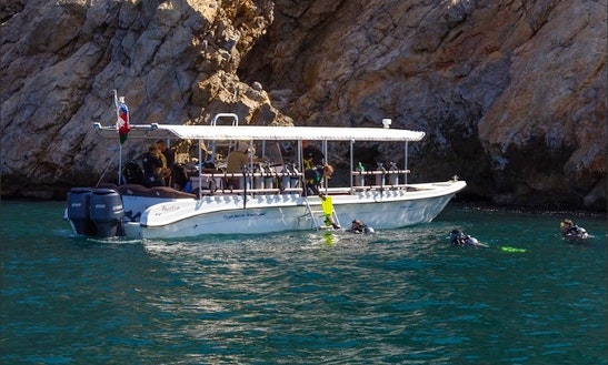 Dive Boat In Muscat