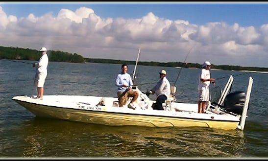 24' Fishing Charter In Ochopee