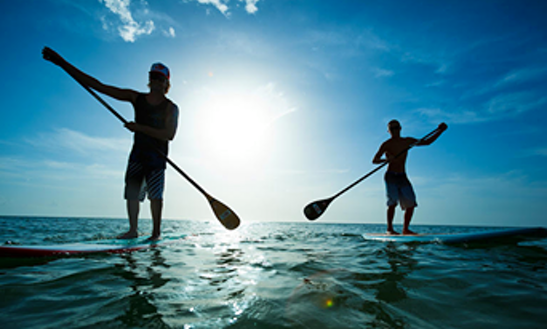 Stand Up Paddle 1 Hour  Full Lesson