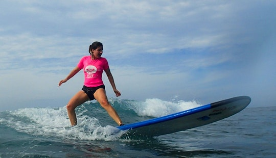 Surf Lessons In Lombok Island