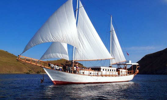 Diving Trip To Gili Islands Aboard A Beautiful Sailing Gulet For 20 Person In Indonesia