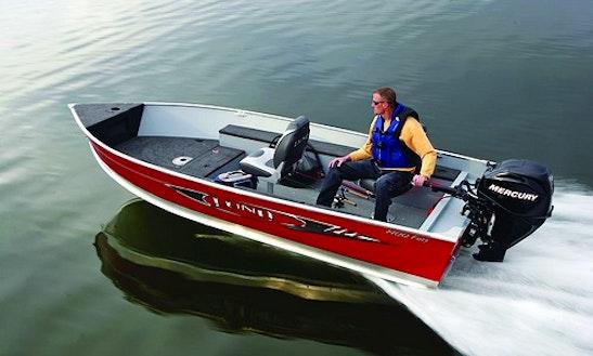 14' Tin Lund Boat Rental In Muskoka Lakes