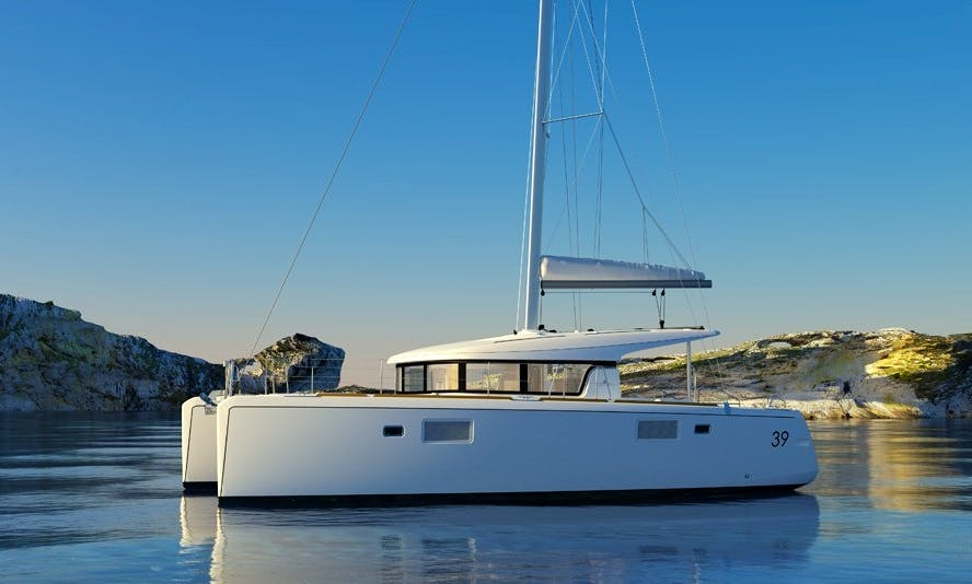 Lagoon 39 Cruising Catamaran Rental in Zagreb, Croatia