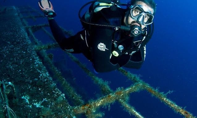 Passenger Boat Diving Trips in Paphos, Cyprus