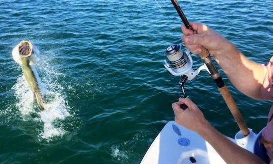 Center Console Fishing Trips In Ochopee, Florida