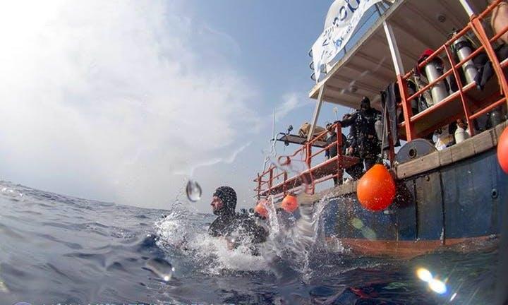 Passenger Boat Diving Trips in Protaras, Cyprus