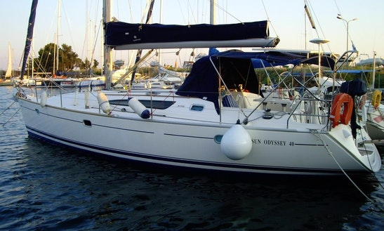 40' Sailing Yacht Charter In Chalkidiki