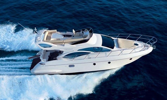 Charter 43' Azimut Motor Yacht In Chalkidiki