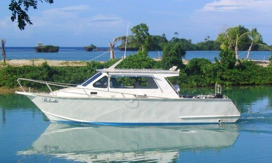 See The Awesome Dive Sites In Fiji Aboard A 32' Aluminum Dive Boat