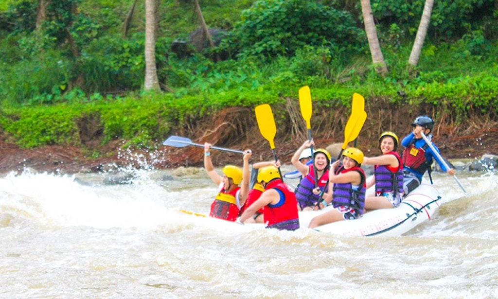 White Water Rafting In Cagayan De Oro Philippines