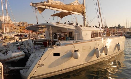 Experience Cruising Aboard A Lagoon 450 Sailing Catamaran For 12 Person In Nettuno