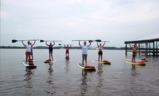 Sup Lesson And Tour In Pensacola Beach