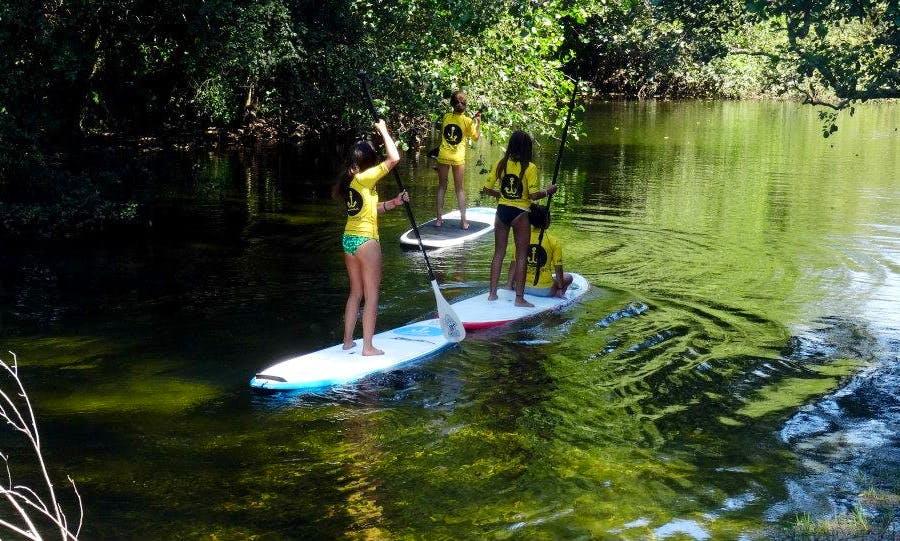 Best SUP instruction lessons in Vila Praia de Ancora, Portugal