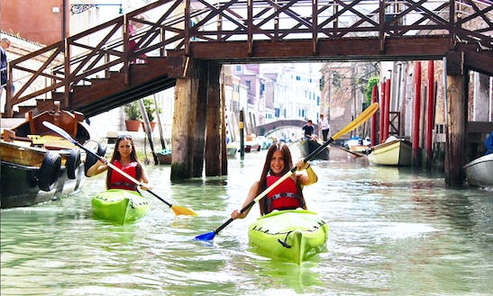 Kayak Rental And Trips In Venice, Italy